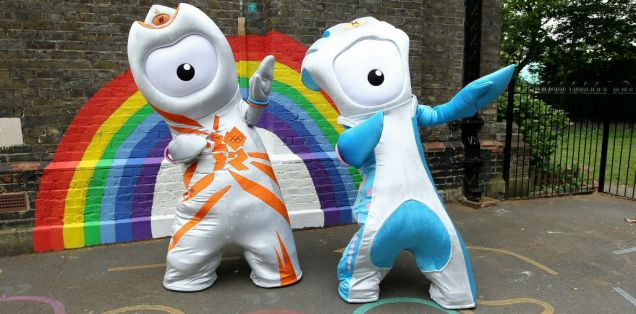 Olympic mascots Wenlock and Mandeville: Twitter users have complained that the mascots are 'too phallic'