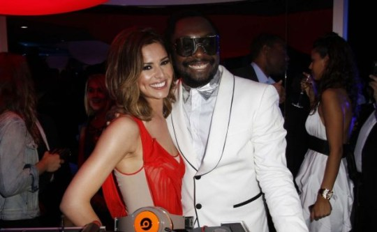 Cheryl Cole and Will.i.am have been spotted getting very cosy together (Photo: KCSPresse/ Splash News)