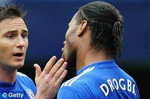 Didier Drogba's little tiff