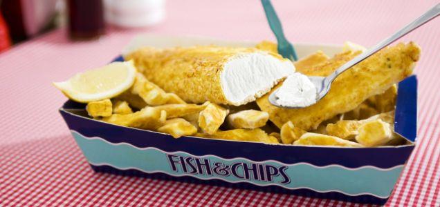 The fish and chip-flavoured ice-cream: mmmmmmmmm, fishy