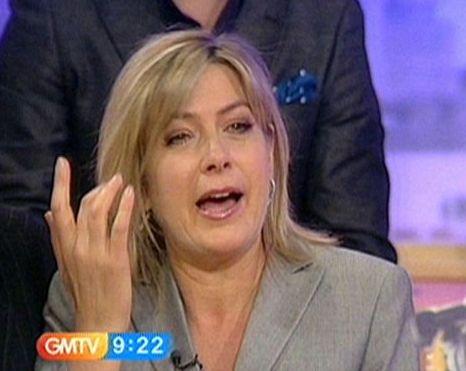 Penny Smith had a tearful farewell on GMTV, Adrian Chiles