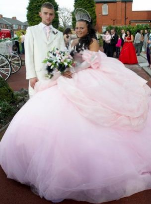 light up gypsy wedding dress