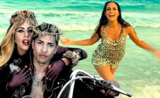 Lady Gaga Judas, Jennifer Lopez I'm Into You