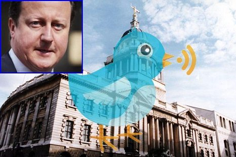 David Cameron Twitter parliament super-injunctions