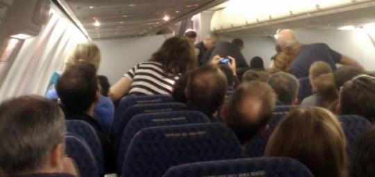 Passengers subdue Almurisi