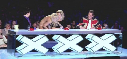 Amanda Holden, Britain's Got Talent, Britney Spears impersonator