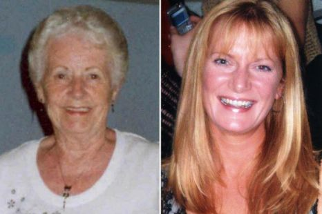 Elizabeth Collings, 68, (left) and Claire Furmedge, 38
