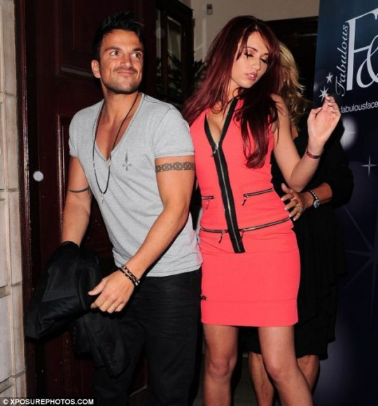Amy Childs Peter Andre