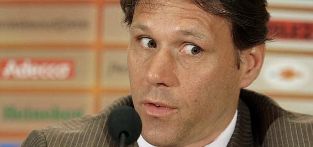 Netherlands national team head coach Marco van Basten