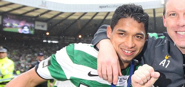 Celtic's Emilio Izaguirre