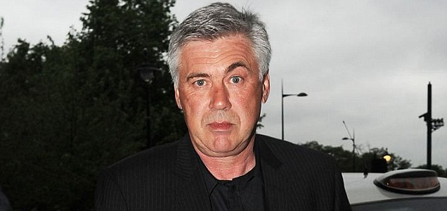 Carlo Ancelotti after being sacked by Chelsea