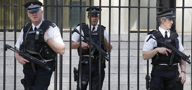 Armed police are set to patrol railways and the London Underground