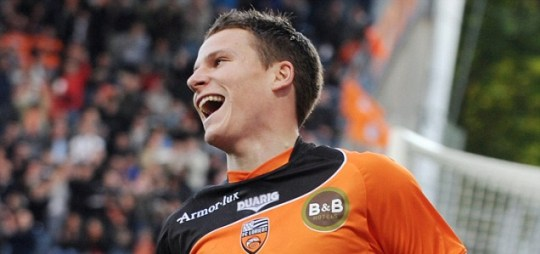 Kevin Gameiro of Lorient
