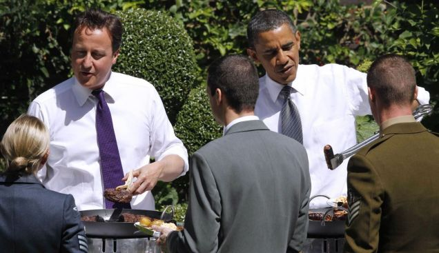 Barack Obama, David Cameron