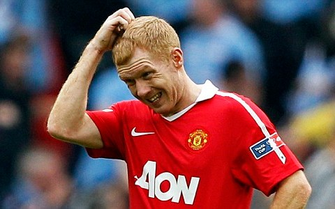 Paul Scholes fears Manchester United could become the new Liverpool