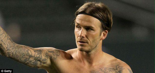 David Beckham Nando's