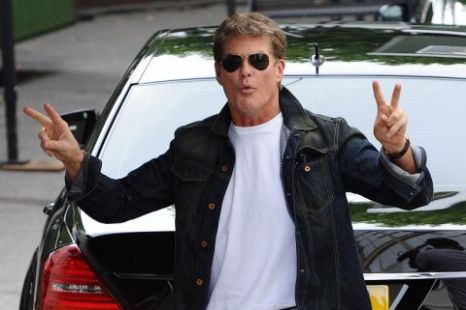 David Hasselhoff Britain's Got Talent