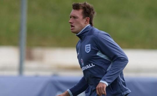 Phil Jones England Under-21 team