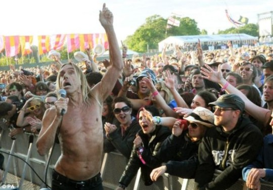 Iggy Pop and The Stooges IOW 2011