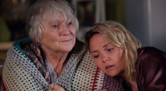 Janine and her grandma finally get close in tonight's EastEnders
