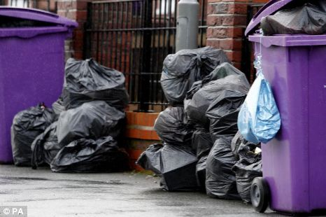 rubbish collections, recycling, waste review