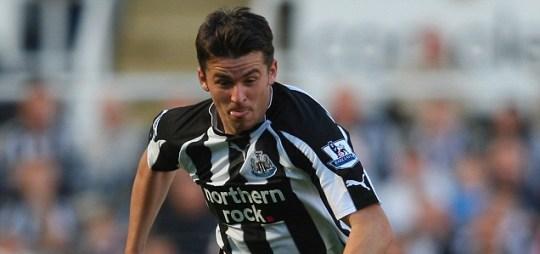Newcastle player Joey Barton