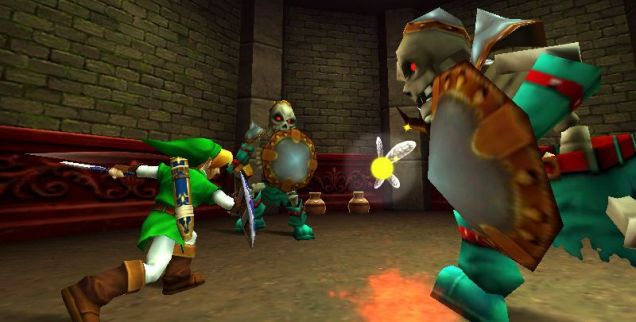 The Legend Of Zelda: Ocarina Of Time 3D (3DS) – as good as it gets