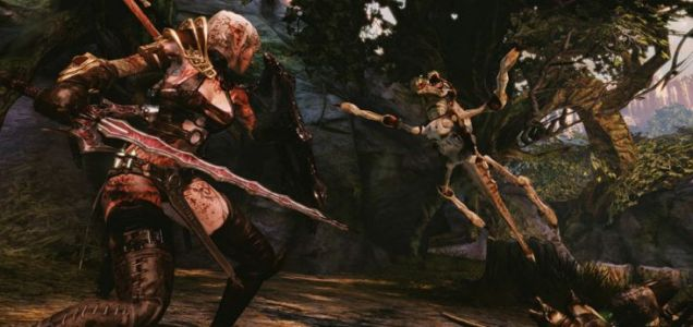 Hunted: The Demon's Forge (360) – he only wants a hug