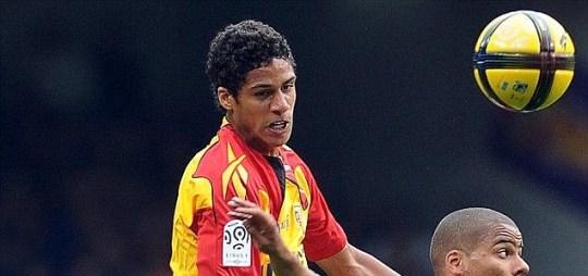 Lens defender Raphael Varane