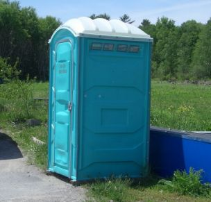 Portable toilet, yoga