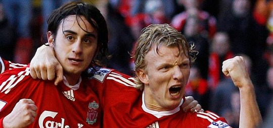 I'm back: Alberto Aquilani will link up with Liverpool team-mate Dirk Kuyt (Reuters)
