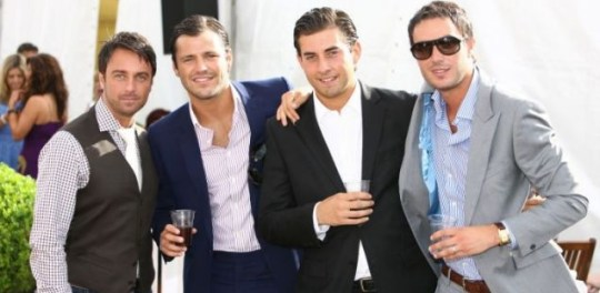 Mark Wright and Arg join Jack Tweed at last year's event