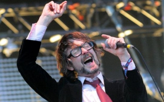 Pulp's Jarvis Cocker at the Wireless Festival 2011