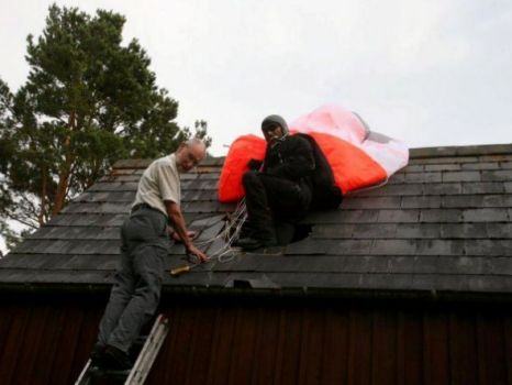Batman stuntman in roof accident, The Dark Knight Rises