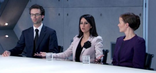 Melody Hossaini, The Apprentice, Alan Sugar