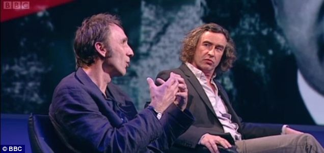 Will Self and Steve Coogan, newsnight