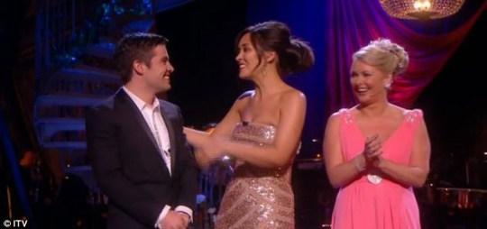 Myleene Klass reveals Joe McElderry to be Popstar to Operastar champion.