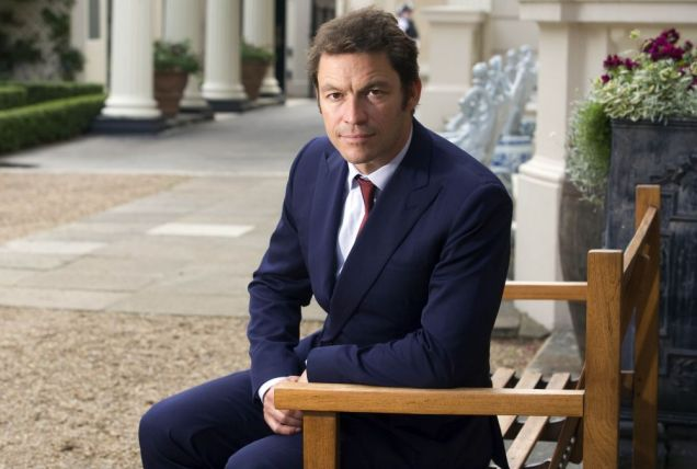 Fan: Dominic West at the Trust's anniversary dinner Picture: Gretel