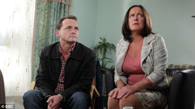 Try as they might, Billy and Julie provide little entertainment in EastEnders