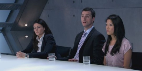 The Apprentice, Natasha Scribbins, Jim Eastwood, Susan Ma