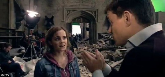 Emma Watson Harry Potter and the Deathly Hallows