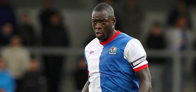 Blackburn Rovers' Christopher Samba