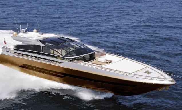 Super yacht, solid gold, £3 billion