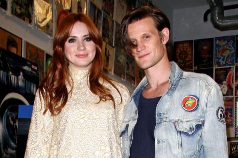 Doctor Who, Matt Smith and Karen Gillan