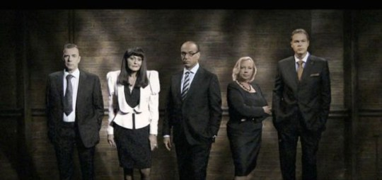 Hilary Devey joins the existing dragons in this year's den