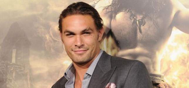 """LOS ANGELES, CA - AUGUST 11: Actor Jason Momoa attends the world premiere of """"Conan The Barbarian"""" held at Regal Cinemas L.A. Live on August 11, 2011 in Los Angeles, California. (Photo by Jason Merritt/Getty Images)"""