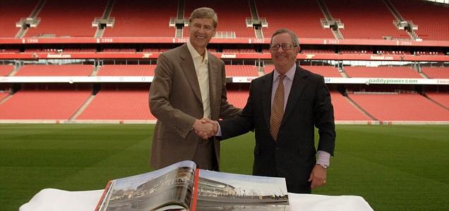 Arsene Wenger Peter Hill-Wood sacked Arsenal