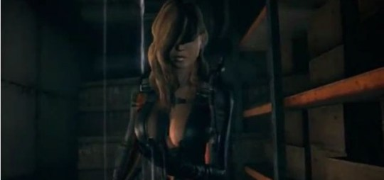 Resident Evil Revelations - terrifying haircut