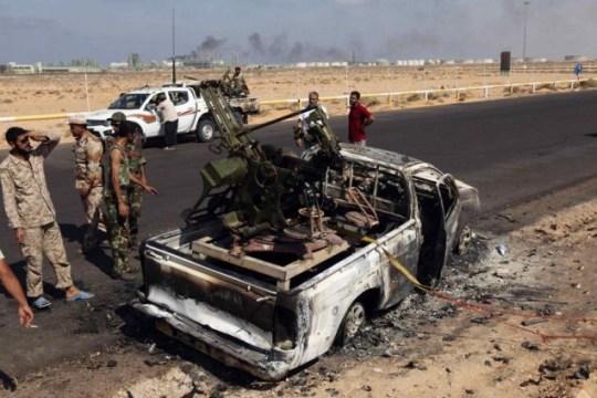 gaddafi regime libya
