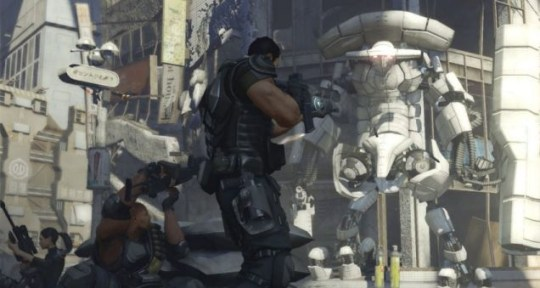 Binary Domain – East meets West